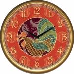 купить Настенные Часы Сlassic Красный Огонь Петуха Gold цена, отзывы