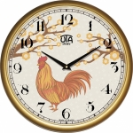 купить Настенные Часы Сlassic Петух Gold цена, отзывы