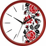 купить Настенные Часы Сlassic Украинский Орнамент Red цена, отзывы