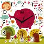 купить Настенные Часы Panorama Волшебный Слон цена, отзывы