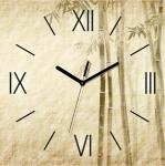 купить Настенные Часы Panorama Бамбуковые Листья цена, отзывы