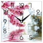купить Настенные Часы Panorama Сакура цена, отзывы
