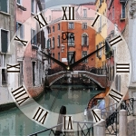 купить Настенные Часы Panorama Каналы Венеции цена, отзывы