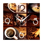 купить Настенные Часы Panorama Кофе цена, отзывы