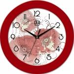 купить Настенные Часы Fashion Маки Red цена, отзывы