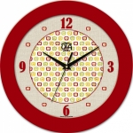 купить Настенные Часы Fashion Яблочки Red цена, отзывы