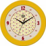 купить Настенные Часы Fashion Яблочки Yellow цена, отзывы