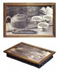 купить Поднос на подушке Чайная церемония цена, отзывы