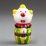 купить Шкатулочка Веселый клоун (9 см) цена, отзывы