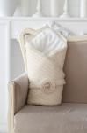 купить Вязаный конверт на выписку одеяло Alanna Демисезонный   цена, отзывы