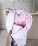 купить Конверт одеяло на выписку Мамина Зайка Pinck цена, отзывы
