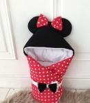 купить Конверт для новорожденного Минни Маус Демисезон цена, отзывы
