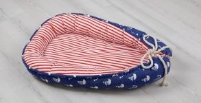 купить Позиционер для малыша Babynest Морской  цена, отзывы