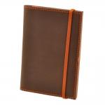 купить Обложка для паспорта Орех-апельсин + блокнотик цена, отзывы