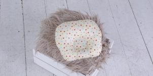 купить Подушка для новорожденных Звездочки цветные цена, отзывы