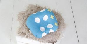 купить Подушка для новорожденных Бирюза цена, отзывы