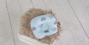 купить Подушка для новорожденных Барашки цена, отзывы