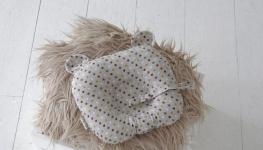 купить Детская подушка для новорожденных Мишкины ушки цена, отзывы