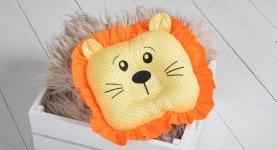 купить Детская подушка игрушка для новорожденных Leo цена, отзывы