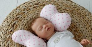 купить Детская подушка для новорожденных Butterfly Звезды цена, отзывы