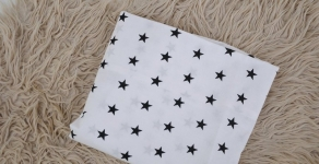 купить Простынь на резинке Звезды White цена, отзывы