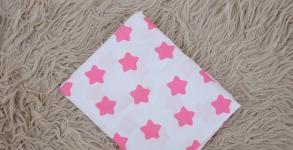 купить Простынь на резинке Малиновые Звезды цена, отзывы