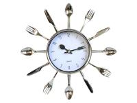 купить Настенные часы Вилки и Ложки маленькие цена, отзывы