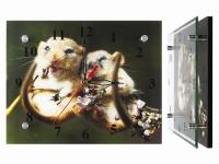 купить Настенные часы Хомячки цена, отзывы