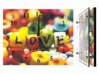 купить Настенные часы Яркая любовь цена, отзывы