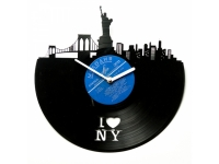 купить Виниловые часы I love NY цена, отзывы