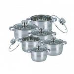 купить Набор посуды Bohmann BH-1275 N 12 пердметов цена, отзывы