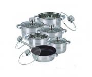 купить Набор посуды Bohmann BH-1275 S 12 пердметов цена, отзывы