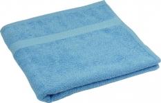 купить Махровое полотенце голубое гладкокрашеное 50х90 цена, отзывы