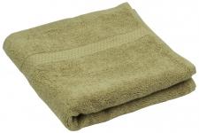купить Махровое полотенце кофейное 70х140 см цена, отзывы