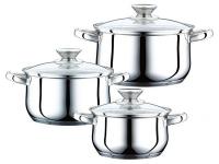 купить Набор посуды 6 предметов Дуэт цена, отзывы