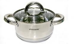 купить Кастрюля Vincent 2,1 л цена, отзывы