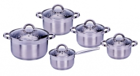 купить Набор посуды MPM Scarlet 10 предметов  цена, отзывы