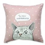 купить Подушка Влюбленный кот цена, отзывы