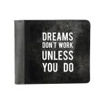 купить Кошелек Dreams dont work unless you do цена, отзывы