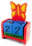 купить Вечный Календарь Цветущая Бабочка Red цена, отзывы