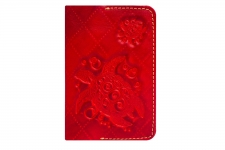 купить Обложка на паспорт Turtle-X Red цена, отзывы