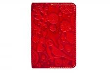 купить Обложка на паспорт Birds Red цена, отзывы