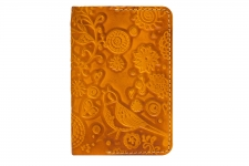 купить Обложка на паспорт Birds Orange цена, отзывы