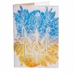купить Обложка на паспорт Цветочный Герб цена, отзывы