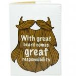 купить Обложка на паспорт Борода цена, отзывы