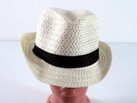 купить Соломенная шляпа Бевьер 28 см кремовая цена, отзывы