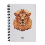 купить Скетчбук Crazy Sketches Geometrical - Lion на пружине цена, отзывы