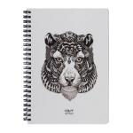 купить Скетчбук Crazy Sketches - Tiger (S) на пружине цена, отзывы