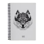 купить Скетчбук Crazy Sketches - Wolf (S) на пружине цена, отзывы
