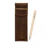 купить Чехол для ручек Орех + эко ручка и карандаш  цена, отзывы